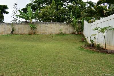 Mililani Single Family Home For Sale: 95-201 Ahunalii Place