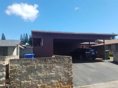 Mililani Single Family Home For Sale: 94-334 Kaukalia Street