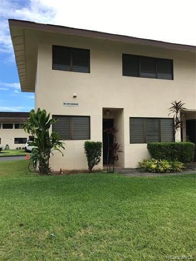 Aiea Condo/Townhouse For Sale: 98-429 Kaonohi Street #281