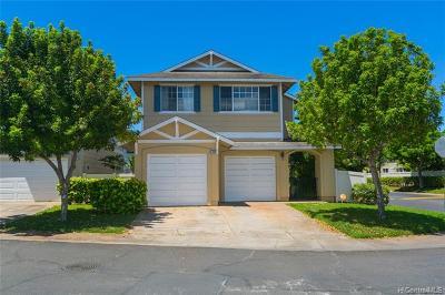 Ewa Beach Single Family Home For Sale: 91-1048 Komoaina Street #75