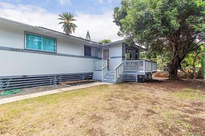 Haleiwa Single Family Home For Sale: 66-429 Waialua Beach Road