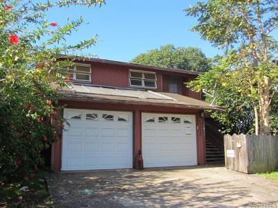Mililani Single Family Home For Sale: 94-343 Hakamoa Street