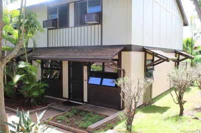 Mililani Condo/Townhouse For Sale: 94-1448 Lanikuhana Avenue #397