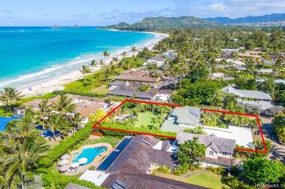 Kailua Single Family Home For Sale: 10 Palione Place