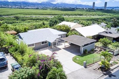 Waipahu Single Family Home For Sale: 94-1133 Lumikula Street