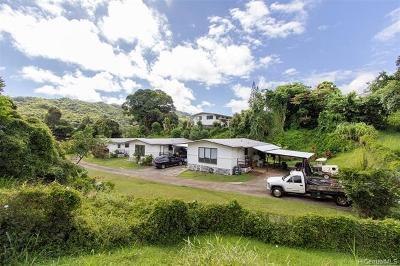Kaneohe Single Family Home For Sale: 47-361 Ahuimanu Road