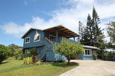 Kaneohe Single Family Home For Sale: 47-434a Waihee Place