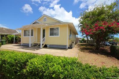 Ewa Beach Single Family Home For Sale: 91-1503 Ekemauu Street