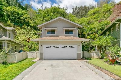 Mililani Single Family Home For Sale: 95-1329 Wikao Street #52
