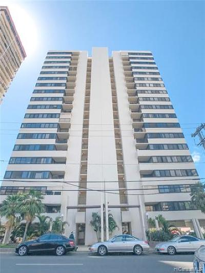 Honolulu Condo/Townhouse For Sale: 1571 Piikoi Street #405