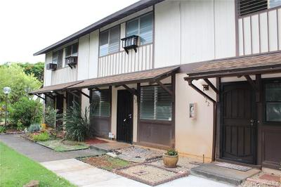 Mililani Condo/Townhouse For Sale: 94-1404 Lanikuhana Avenue #423