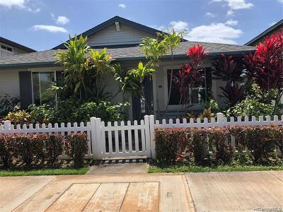 Kapolei Single Family Home For Sale: 1101 Kukulu Street #5