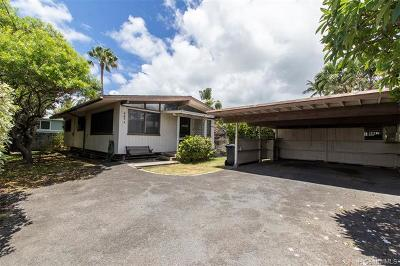 Kailua Single Family Home For Sale: 543 Auwai Street #A