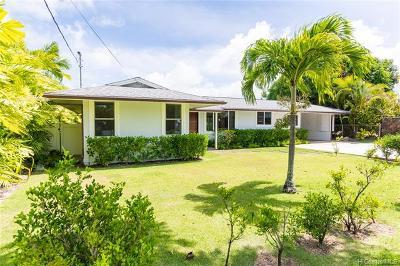 Kailua Single Family Home For Sale: 157 Makawao Street