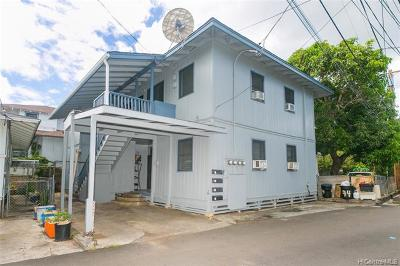 Honolulu Multi Family Home For Sale: 44 Kauila Street