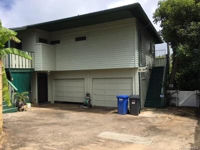 Laie Single Family Home For Sale: 55-124 Naupaka Street