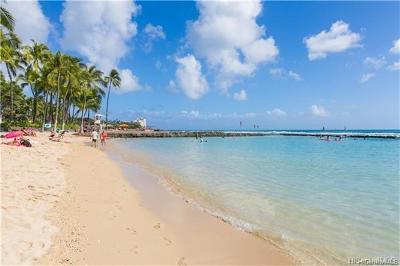 Honolulu County Condo/Townhouse For Sale: 2500 Kalakaua Avenue #201