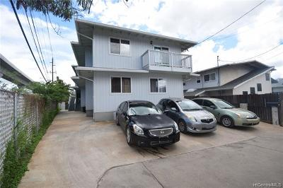 Aiea Multi Family Home For Sale: 99-040 Upapalu Drive #D