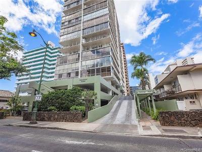 Honolulu Condo/Townhouse For Sale: 2575 Kuhio Avenue #1601