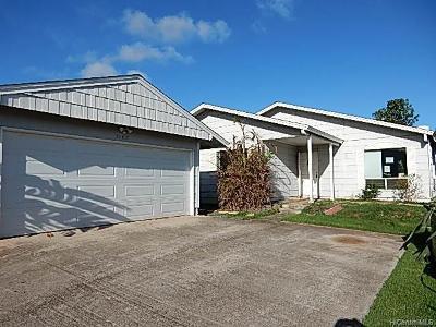 Kapolei Single Family Home For Sale: 92-1037 Kanehoa Loop