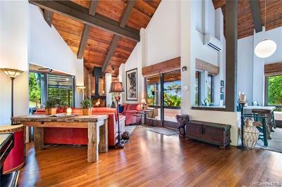 Kailua Single Family Home For Sale: 1315 Lopaka Place