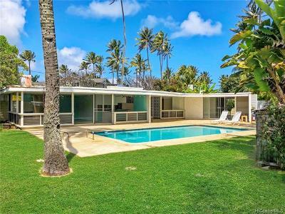 Kailua Single Family Home For Sale: 100 N Kalaheo Avenue
