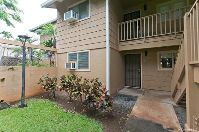 Pearl City Condo/Townhouse For Sale: 98-1392 Koaheahe Place #16/151