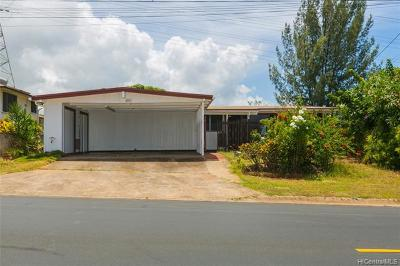 Pearl City Single Family Home For Sale: 1149 Puu Poni Street