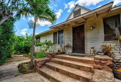 Waianae Single Family Home For Sale: 86-303 Puhawai Road