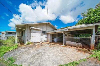 Kaneohe Single Family Home For Sale: 45-520-B Pahia Road