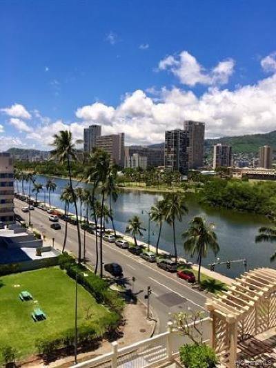 Honolulu HI Condo/Townhouse For Sale: $212,000