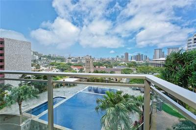 Honolulu Condo/Townhouse For Sale: 1200 Queen Emma Street #1006