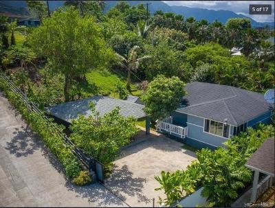 Kaneohe Single Family Home For Sale: 47-414 Ahuimanu Place #A