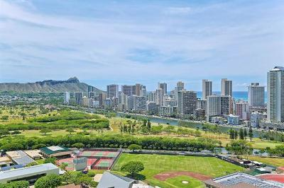 Honolulu Condo/Townhouse For Sale: 581 Kamoku Street #3004