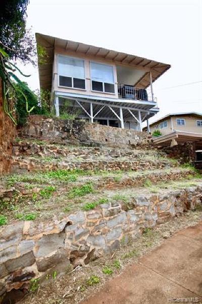 Honolulu Single Family Home For Sale: 4379 Likini Street