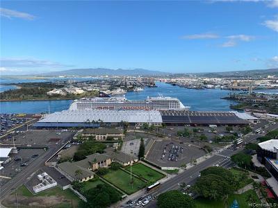 Honolulu Condo/Townhouse For Sale: 600 Ala Moana Boulevard #3208
