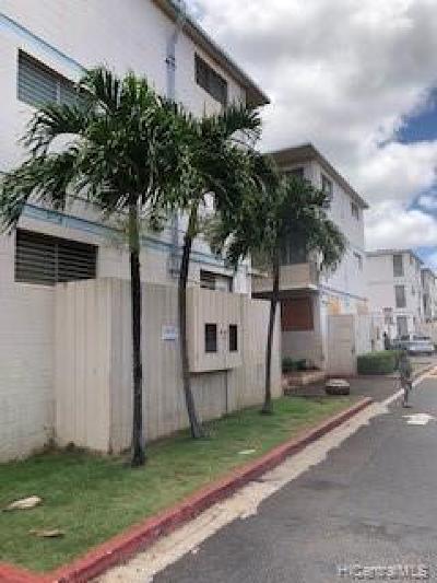 Waipahu Condo/Townhouse For Sale: 94-245 Leowahine Street #1004