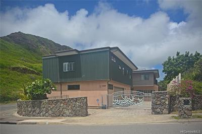 Single Family Home For Sale: 1001 Maunanani Street