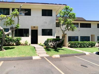 Aiea Condo/Townhouse For Sale: 98-441 Kaonohi Street #352