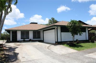 Mililani Single Family Home For Sale: 95-745 Lanipaa Street