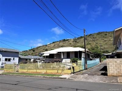 Honolulu Single Family Home For Sale: 1874 Mahana Street