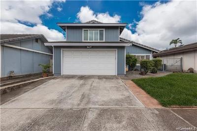 Waipahu Single Family Home For Sale: 94-1022 Palaiki Street