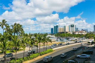 Honolulu Condo/Townhouse For Sale: 1690 Ala Moana Boulevard #401