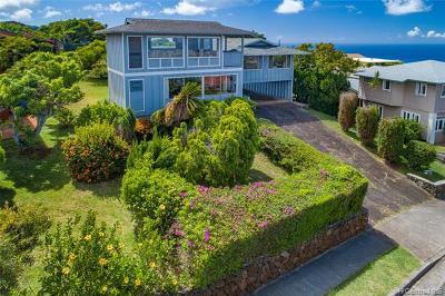 Honolulu Single Family Home For Sale: 2057 Alaeloa Street