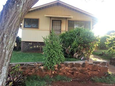 Honolulu County Single Family Home For Sale: 94-1218 Henokea Street