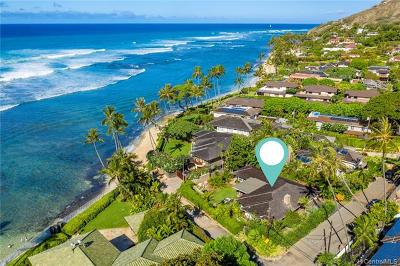 Honolulu Single Family Home For Sale: 216 Kulamanu Place
