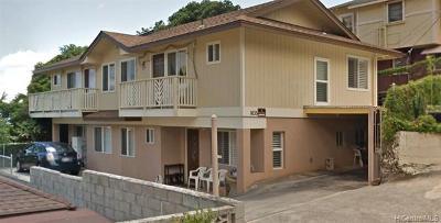 Honolulu Single Family Home For Sale: 1635 Merkle Street