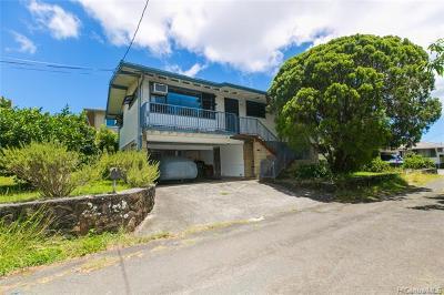 Honolulu Single Family Home For Sale: 321 N Judd Street #A