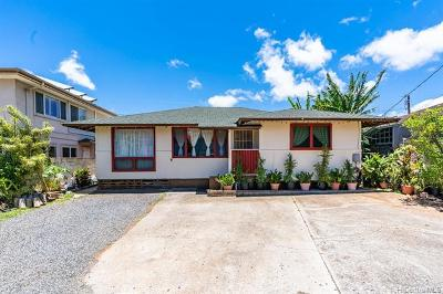 Honolulu Single Family Home For Sale: 1228 Makalapua Place