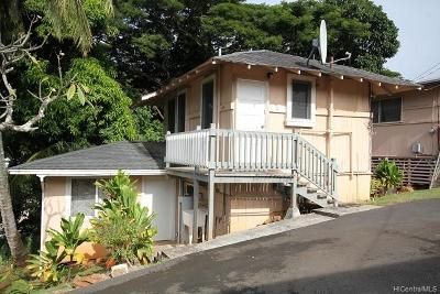 Honolulu Rental For Rent: 2530 Kalihi Street #G